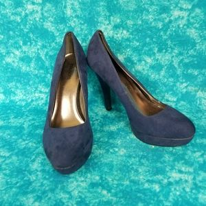 Maurices  Blue Suede Pumps